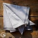 Schweizer Stoffserviette Vichykaro  von Meyer Mayor aus 100% Baumwolle