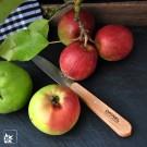 Wir benutzen die Opinel-Küchenmesser auch bei uns zuhaus.