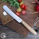 Otter Streichmesser - Tafelmesser mit Eichenholzgriff. Lieferung ohne Dekoration!