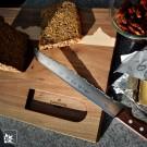 Brotmesser von PanoramaKnife – Lieferung OHNE Brett und Dekoration
