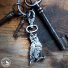 Schlüsselanhänger Eule - Hergstellt in Österreich. (Lieferung ohne Schlüssel!)