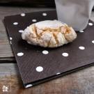 Schön sind die Servietten z.B. für eine kleine Kaffeepause. Lieferung OHNE Dekoration.