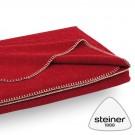 Wolldecke Steiner Alina - Farbe Preiselbeer