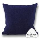 Steiner Kissen Alina - Farbe Heidelbeer – 40 x 40 cm oder 55 x 55 cm