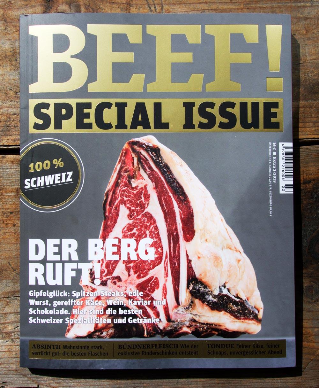 BEEF! Sonderheft Schweiz
