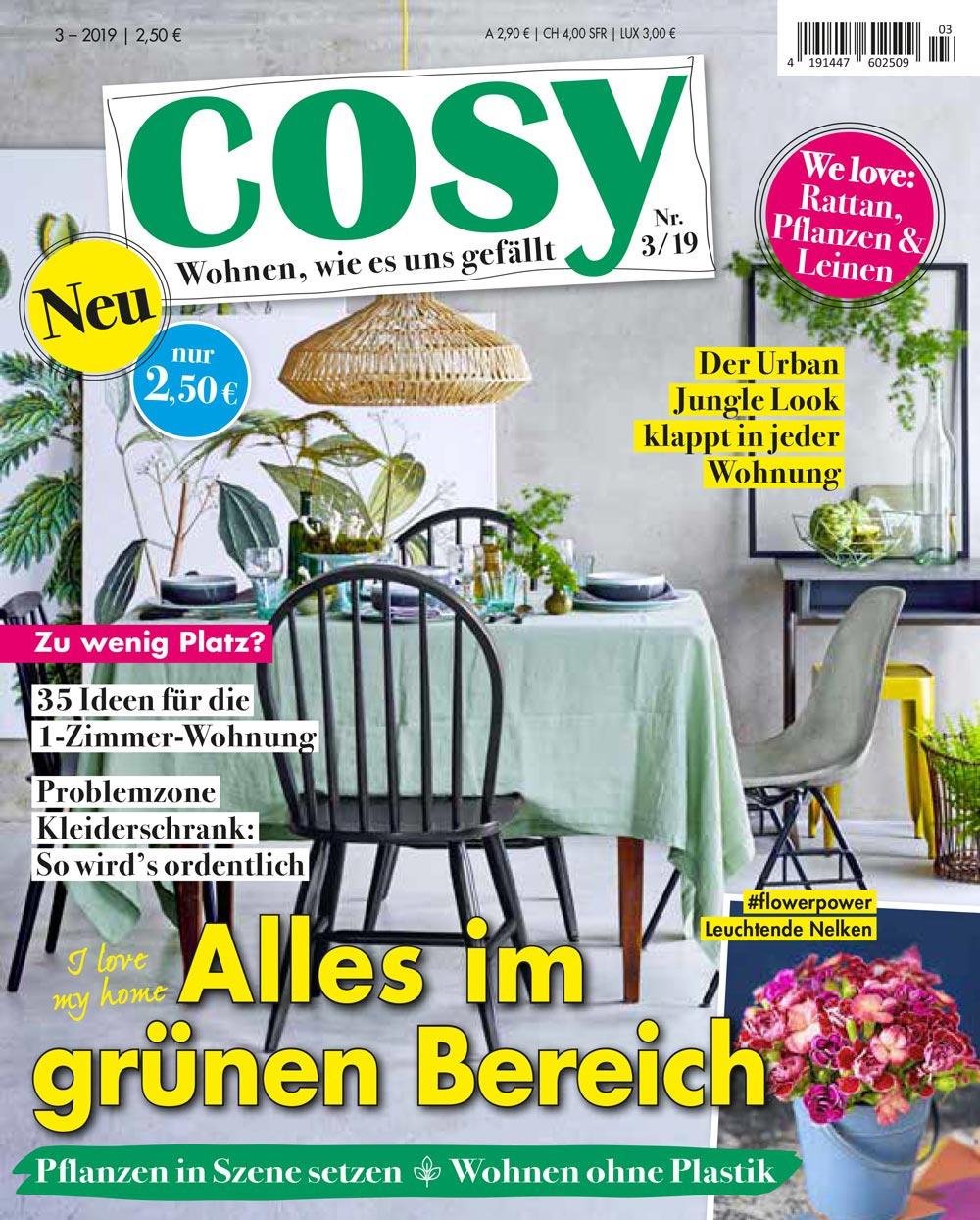 Cover Cosy 03 2019