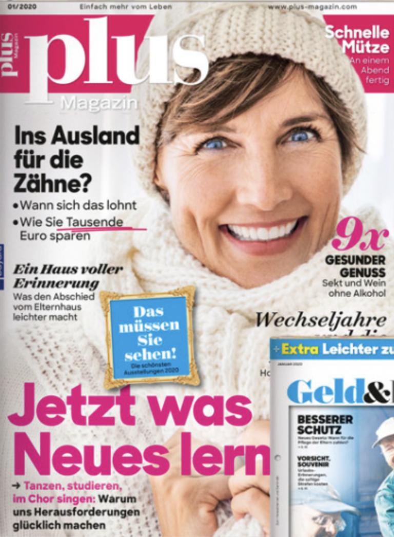 Plus Magazin Cover 01 2020