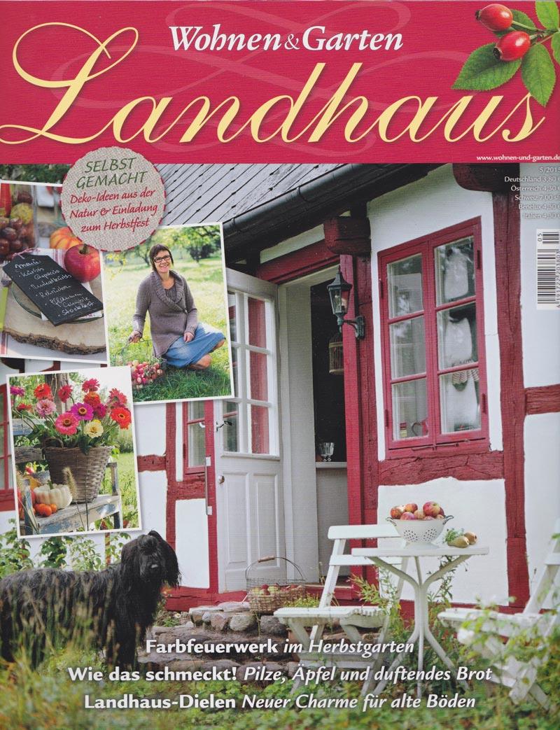 Zeitschrift Landhaus -Wohnen und Garten