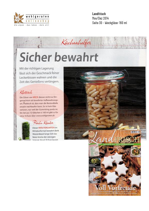Magazin Landfrisch | Heft Nov/Dez 2014 Seite 30