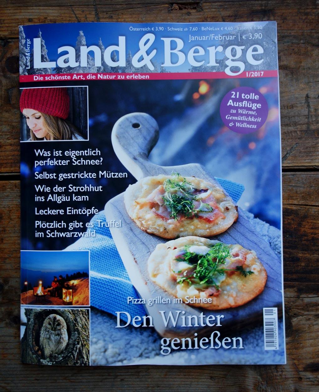 Wohlgeraten in Land und Berge 1 2017 Cover
