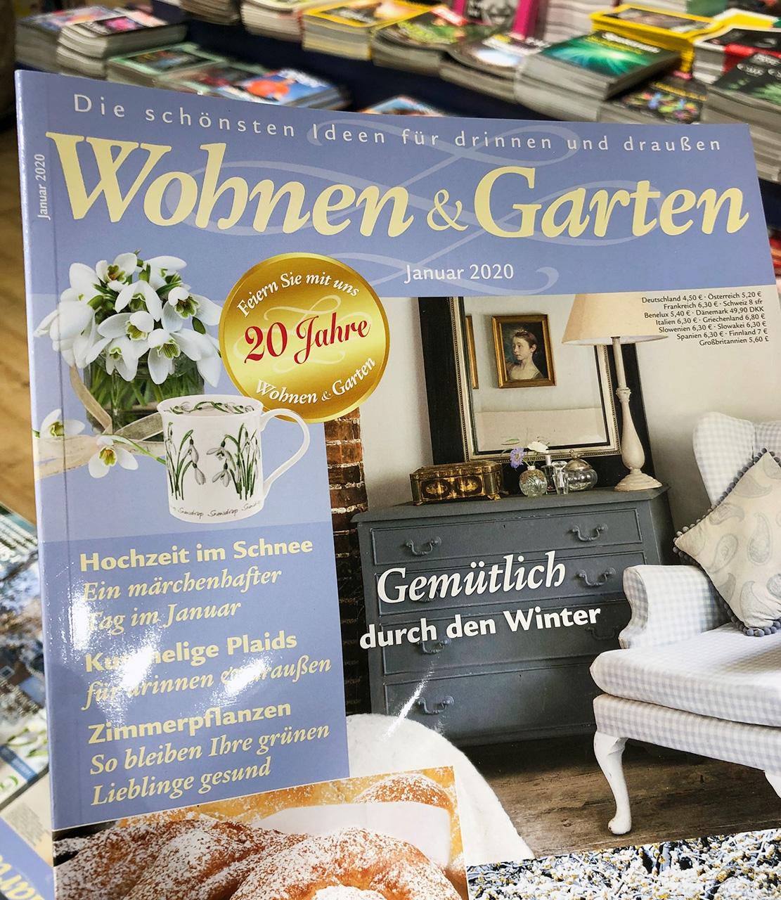 Cover Wohnen und Garten 01 2020