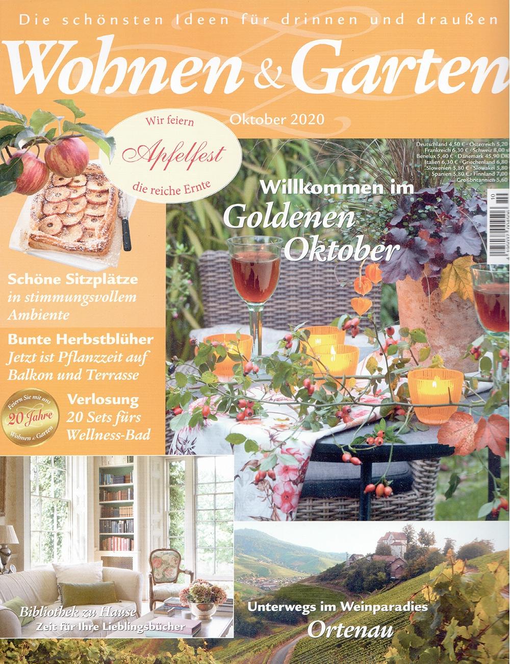 Cover Wohnen und Garten 10 2020